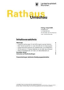 Rathaus Umschau 73 / 2020
