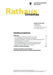 Rathaus Umschau 79 / 2020
