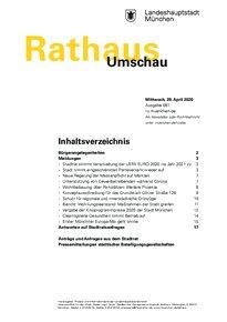 Rathaus Umschau 81 / 2020