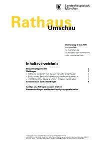 Rathaus Umschau 86 / 2020