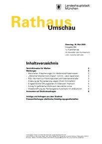 Rathaus Umschau 94 / 2020