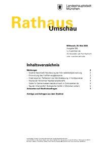 Rathaus Umschau 95 / 2020
