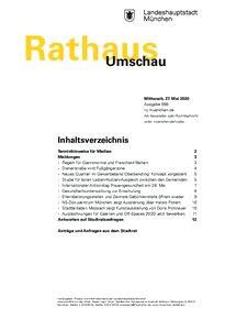 Rathaus Umschau 99 / 2020