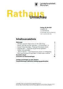 Rathaus Umschau 100 / 2021