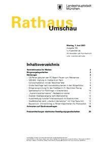 Rathaus Umschau 105 / 2021