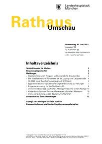 Rathaus Umschau 108 / 2021