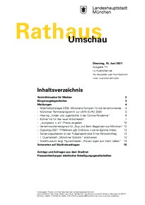 Rathaus Umschau 111 / 2021