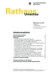Rathaus Umschau 112 / 2021