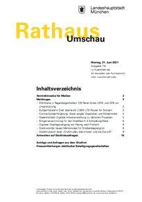 Rathaus Umschau 115 / 2021