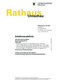 Rathaus Umschau 117 / 2021
