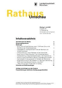 Rathaus Umschau 125 / 2021