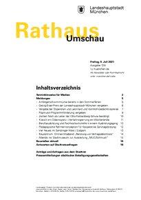 Rathaus Umschau 129 / 2021