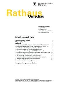 Rathaus Umschau 135 / 2021
