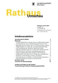 Rathaus Umschau 14 / 2021
