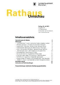 Rathaus Umschau 144 / 2021