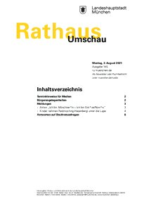 Rathaus Umschau 145 / 2021