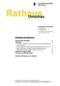 Rathaus Umschau 148 / 2021