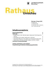Rathaus Umschau 156 / 2021
