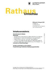 Rathaus Umschau 157 / 2021
