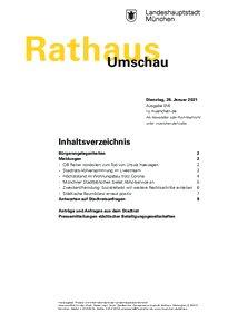 Rathaus Umschau 16 / 2021