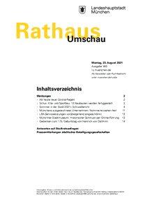 Rathaus Umschau 160 / 2021