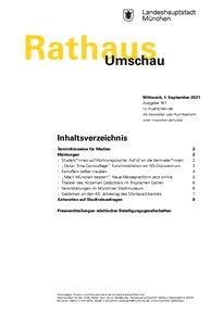 Rathaus Umschau 167 / 2021