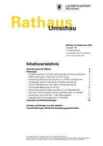 Rathaus Umschau 180 / 2021