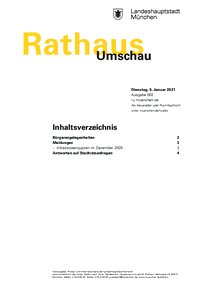 Rathaus Umschau 2 / 2021