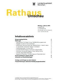 Rathaus Umschau 20 / 2021