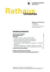 Rathaus Umschau 202 / 2021