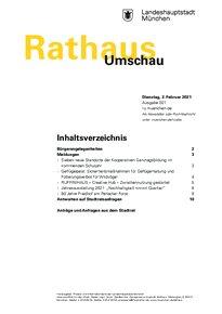 Rathaus Umschau 21 / 2021