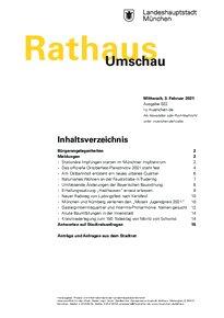 Rathaus Umschau 22 / 2021