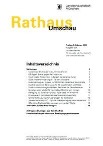 Rathaus Umschau 24 / 2021