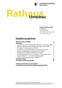 Rathaus Umschau 34 / 2021