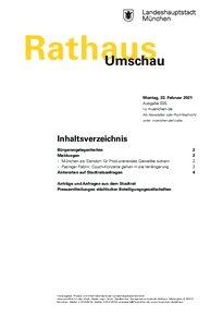 Rathaus Umschau 35 / 2021