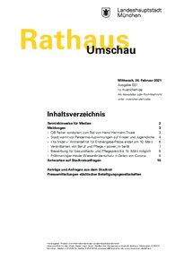 Rathaus Umschau 37 / 2021