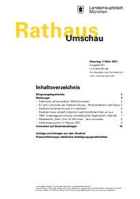 Rathaus Umschau 41 / 2021