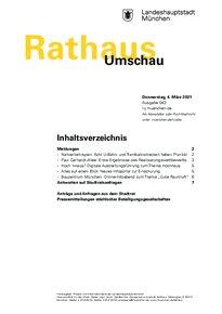 Rathaus Umschau 43 / 2021