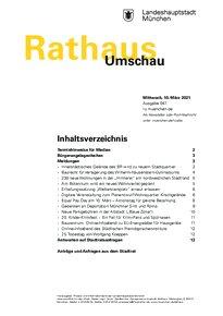 Rathaus Umschau 47 / 2021