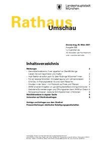 Rathaus Umschau 58 / 2021