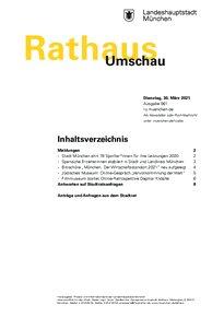 Rathaus Umschau 61 / 2021