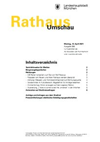 Rathaus Umschau 68 / 2021