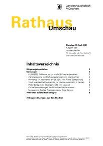 Rathaus Umschau 69 / 2021