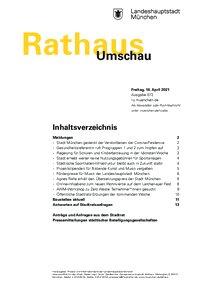 Rathaus Umschau 72 / 2021