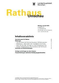 Rathaus Umschau 73 / 2021