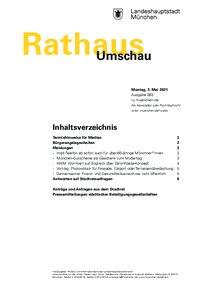 Rathaus Umschau 83 / 2021