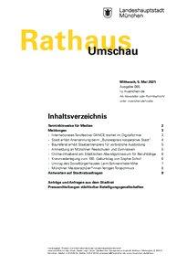 Rathaus Umschau 85 / 2021