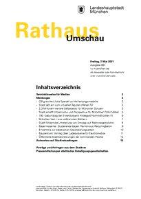 Rathaus Umschau 87 / 2021