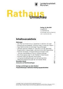 Rathaus Umschau 91 / 2021